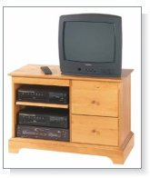 Heirloom TV Console Table Kit