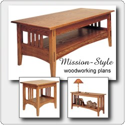 craftsman coffee table plan