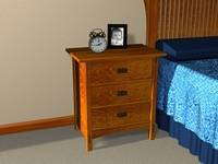3-drawer Night Stand Plans