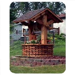 Wishing Well Plans - Free Woodworking Plans for the Outdoors