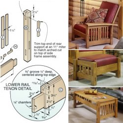 morris rocking chair plans pdf