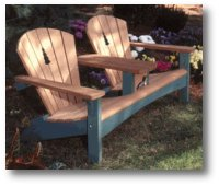Double Settee Woodworking Plan